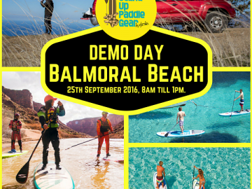 SUP Gear Australia DEMO Day.