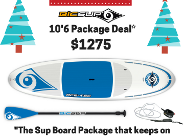 Christmas Bic SUP Package Deal.