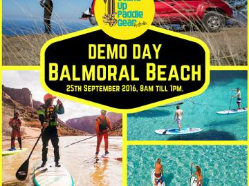 SUP Gear Australia DEMO Day.