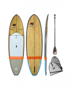 Inception SUP 10'0 Wood Package