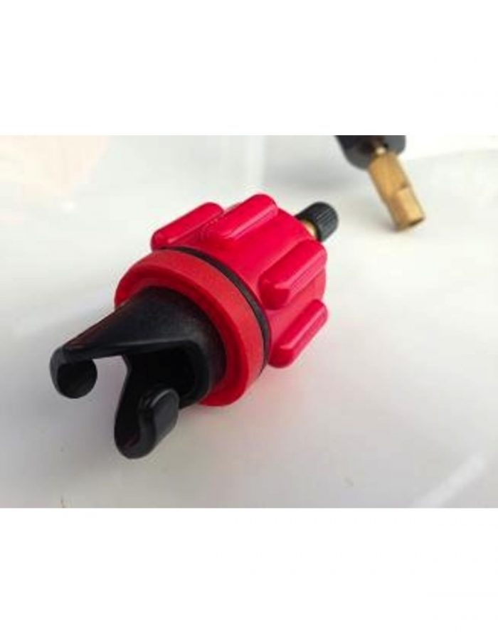 Red PaddleCo Schrader Value Adaptor.