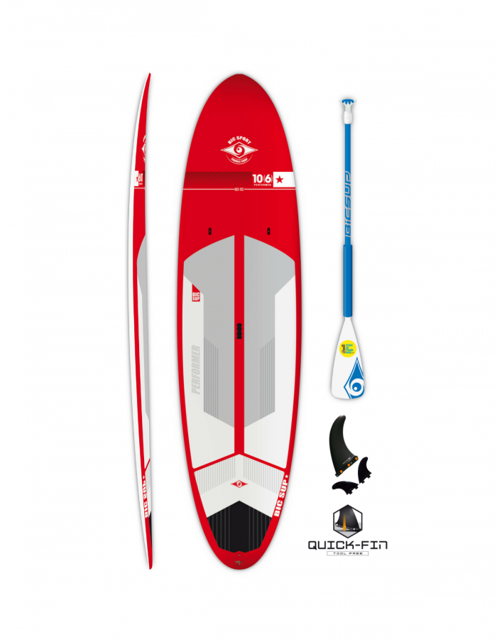 Bic Sup 10'6 Performer Red