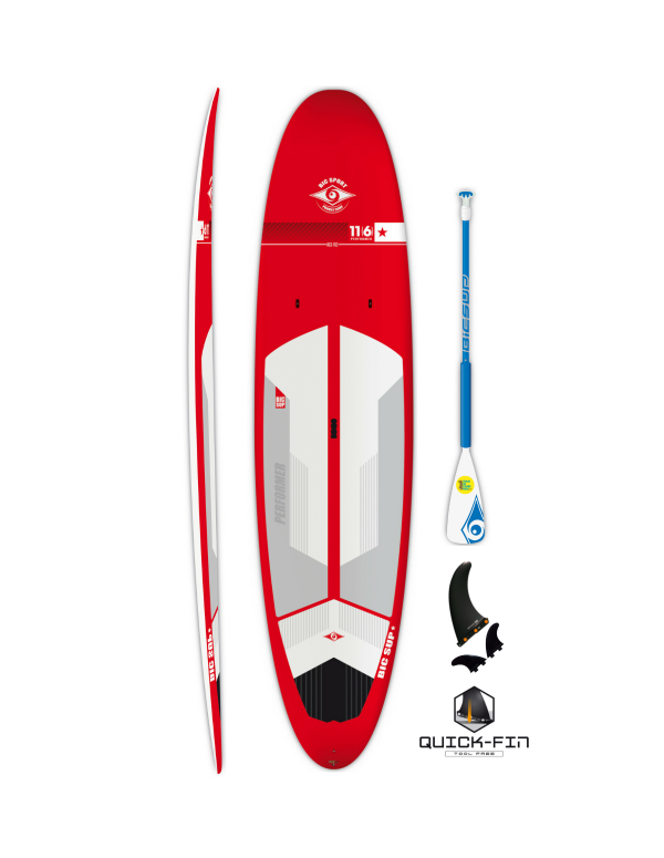 Bic Sup 11'6 Performer Red