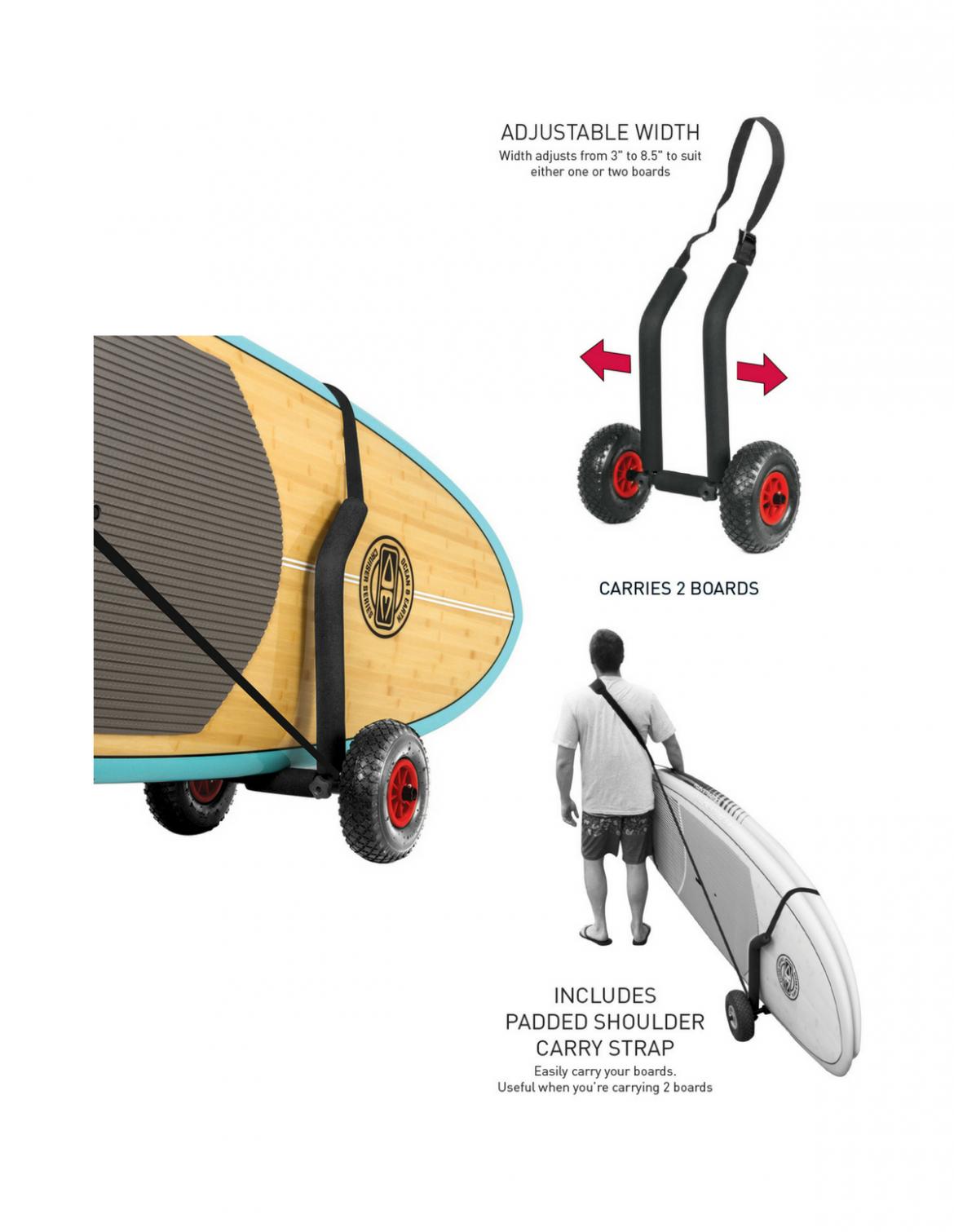 O & E SUP Double Trolley