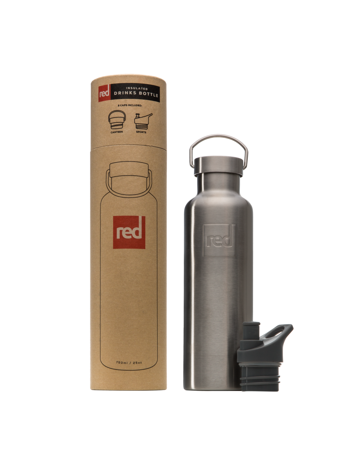 Red Originals Insulated Drinks Bottle.