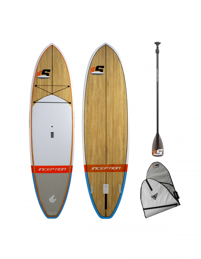 Inception SUP 10'6 Wood Package