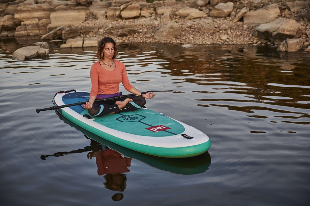 Choose a yoga specific inflatable paddle board